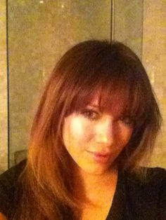 Hilary Duffs new hairstyle with bangs