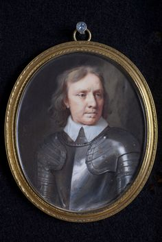Oliver Cromwell Artist: Samuel Cooper Date: 1657