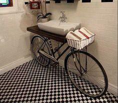 Cool Hunting bicicletta lavandino