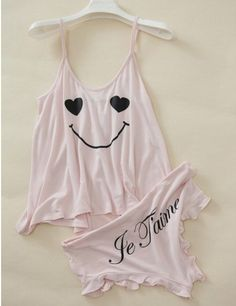 Діалоги Cute Pajama Sets, Cute Pajamas, Pajamas Women, Pajama Outfits, Girl Outfits, Cute Outfits, Pyjamas, Sleepover Outfit, Cute Lingerie