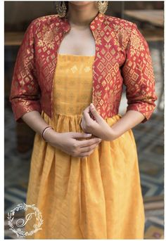 Priyamani in AanDe Indo-Western Gown - Salwar Designs, Kurta Designs Women, Kurti Designs Party Wear, Fancy Blouse Designs, Dress Neck Designs, Saree Blouse Designs, Indian Designer Outfits, Indian Outfits, Long Dress Design