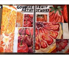 A level art / gcse art food project sketchbook layout Joel penkman packaging and mass consumerism A* coursework Sketchbook Inspiration, Layout Inspiration, Sketchbook Ideas, Arte Gcse, Natural Forms Gcse, Natural Form Artists, Gcse Art Sketchbook, A Level Art Sketchbook Layout, Sketching