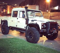 The Defender of Lebanon @gmazloom Follow us ---> @dailyoverland @landrover #DefenderSeries... Landrover Defender, Land Rover Defender Pickup, Defender 90, Carros Suv, Offroader, Off Road Adventure, Expedition Vehicle, Cool Trucks, Pickup Trucks