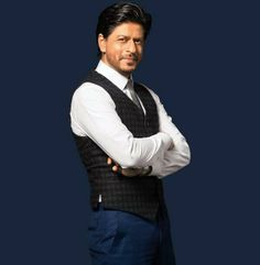 Embedded image permalink-Mr. Handsome Shah Rukh Khan in the new Mahagun ad.