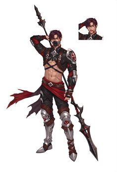 God of the Sky and Champions Fantasy Character Design, Character Design Inspiration, Character Concept, Character Art, Concept Art, Dnd Characters, Fantasy Characters, Sword Drawing, Arte Cyberpunk