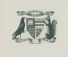 [Bookplate of Washington and Lee University] by Pratt Libraries, via Flickr
