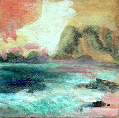 PAOLO SALVATI - Marina esotica - 1981 - Opere di fantasia.
