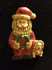 Bakelite vintage Santa broach/pin