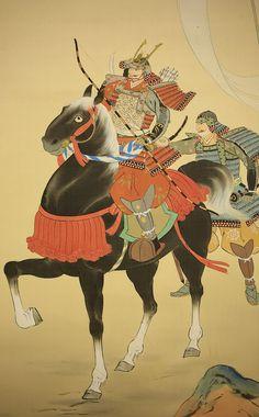Samurai Warrior on Horse