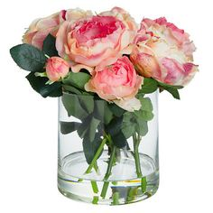 Rose Cube, Pink flowers
