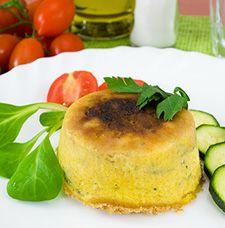 Recette Flan aux tomates et aux courgette