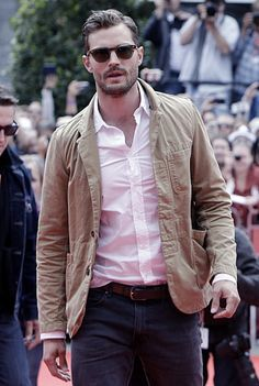 Jamie Dornan on the KVIFF red carpet in Karlovy Vary - 9 July 2015Click on for more Anthropoid info or Appearanceslovefiftyshades.com | twitter | instagram | pinterest | youtube