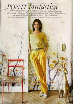 Laura Ponte, AD: eklektisches Haus, Eclectic house, casa ecléctica