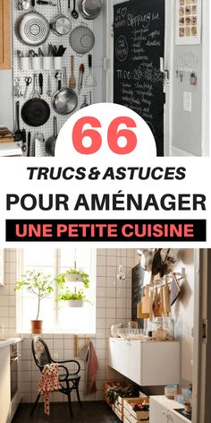 66 Tips & Tricks (That Work) to Fit a Small Kitchen - Corridor Home Organisation, Organization Hacks, Kitchen Hacks, New Kitchen, Kitchen Small, Kitchenette, Hacks Diy, Diy On A Budget, Diy Home Decor