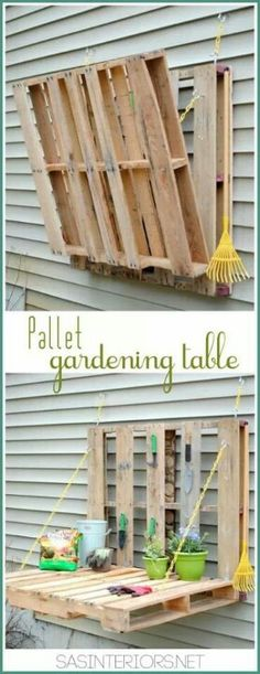 Gardening table.