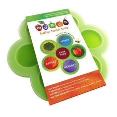 The Munch baby food containers are made of premium quality food-grade silicone (above FDA-approved) and is free of BPA, Phthalates and other toxins. Let's make baby food. Large Ice Cube Tray, Orange Cupcakes, Baby Food Containers, Cupcake Mold, Breastmilk Storage, Freezer Burn, Food Trays, Homemade Baby, Baby Food Recipes