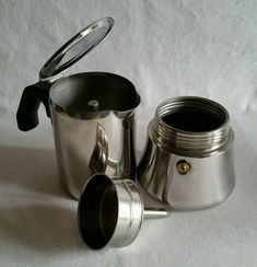 IKEA RADIG STOVE TOP 6 CUP ESPRESSO MAKER COFFEE BREWER POT STAINLESS STEEL #IKEA