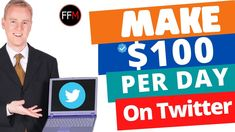 Make $100 Day From Twitter With These 3 Tricks | How to Earn Money on Twitter  #makeaday #twittermarketing #facebookmarketing #instagram #cpamarketing #affiliatemarketing #emailmarketing #fivefiguremarketing #makemoneyonline #digitalmarketing #fivefiguremarketing #workfromhome #makemoney Facebook Marketing, Affiliate Marketing, Social Media Marketing, Digital Marketing, Make Money Online, How To Make Money, Free Training, 100th Day, Pinterest Marketing