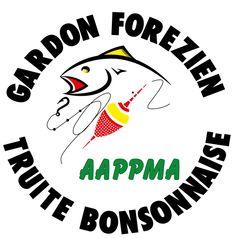 GrafikZone - Logo association de pêche