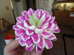 Decorating Cupcakes: #6 Chrysanthemum Flower