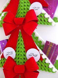 crochet Advent calendar       ♪ ♪ ... #inspiration_crochet #diy GB   ------••••••«»»«§₩¥£€¡¿‰ PART 4