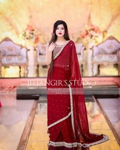 Beautiful Pakistani Dresses, Pakistani Formal Dresses, Pakistani Fashion Party Wear, Elegant Saree, Pakistani Dress Design, Pakistani Bridal, Fashion Wear, Fashion Outfits, Fancy Dress Design