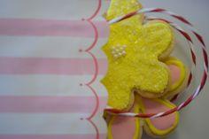 treat bags + spring sugar cookies