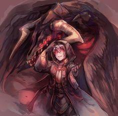 I am the fell dragon Grima