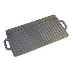 KitchenCraft Cast Iron Griddle Plate with Non Stick Finish and Handles, Induction Safe, 45 x 23 cm Griddle For Gas Stove, Gas Stove Top, Cast Iron Griddle, Bbq Plates, Electric Cooktop, Griddles, Kitchen Equipment, Kitchen Craft, Kitchen Tools