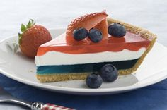 JELL-O Easy Patriotic Pie Recipe - Kraft Recipes