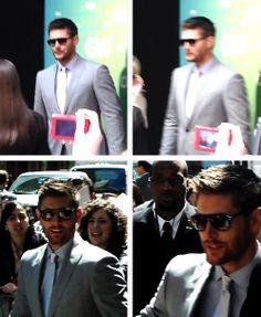 [gifset] Ohhh So Hot!  FTT in bottom left gif <3 #JensenAckles  #FTT