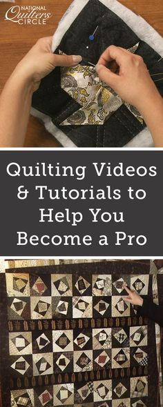 Do you love quilting? Want to become a better quilter? Sign up for awesome quilting tutorials and projects from the National Quilters Circle!