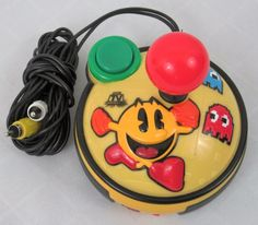 Pac Man Gold Plug n Play Jakks Pac Man Arcade Yellow 8 in 1 Games  #JakksPacific