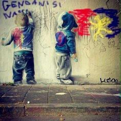 Genoa Cfc, Forever, Italy, Painting, Funny Quites, Italia, Painting Art, Paintings, Painted Canvas
