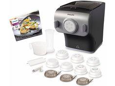 Jetzt Philips Pastamaker HR2358/12, 200 Watt, 8 Formscheiben günstig im yourhome Online Shop bestellen