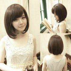New Women Girls' Fashion Short Straight Wig Bobo Cosplay Party Full Wigs Hair | eBay