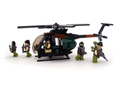 MH-6 Little Bird - 02 by Legohaulic