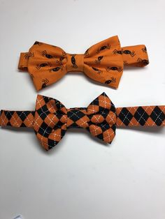 bba4bcadbc3c Excited to share this item from my #etsy shop: Halloween bow tie, boys