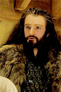 My precious king under the lonely mountain- he died before he ever got to truly become king but his spirit shall live on under the mountain with all of the other dwarves !!!! #FOREREBOR ❤