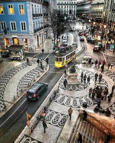 City view ~ Lisbon, Portugal Photo: Congrats Founders: - Best Places to Visit X Visit Portugal, Spain And Portugal, Portugal Travel, Places Around The World, Travel Around The World, Places To Travel, Places To Visit, S Bahn, Voyage Europe