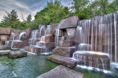 Franklin Delano Roosevelt Memorial, Tidal Basin, Washington DC