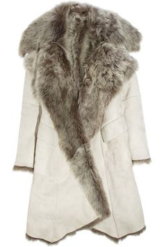 Dying Sheepskin Coat