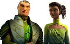 General Ronin and Queen Tara. Love them! I was so sad that she died and Ronin was left heart-broken!
