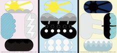 服部一成展『視覚伝達』   < taste > girly / pop   < media material > poster < layout > layoutで分類した後にさらに分類      < shape > geometric   < decoration > 分類した後にさらに分類