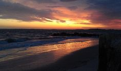 sunset on Bloody Point, Daufuskie Island, South Carolina