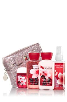 Japanese Cherry Blossom Holiday Magic Gift Set - Signature Collection - Bath & Body Works