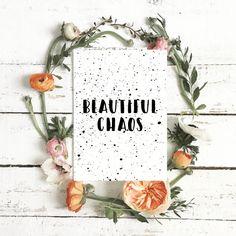 Kartka – Beautiful chaos