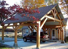 Timber Frame Pavilions - Homestead Timber Frames