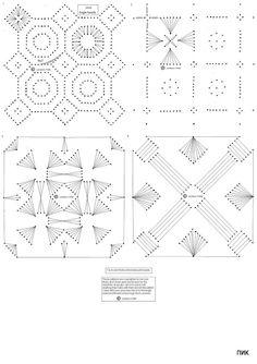 Handmade-kursy ,wzory ,tutoriale: Haft matematyczny-schematy
