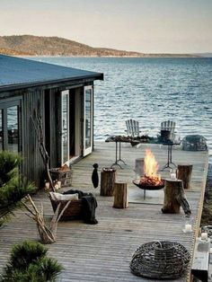 46 Creative Lake House Exterior Designs Ideas - Inspirational Home Decor